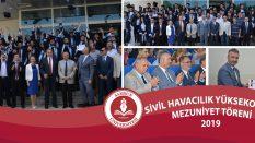 Sivil Havacılık Yüksekokulu Mezuniyet Töreni